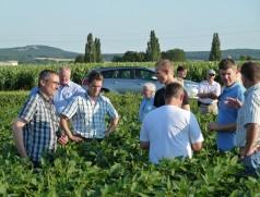 Lohnender Blick über die Grenze: Exkursion des Sojaförderring nach Österreich. Foto: Taifun Tofuprodukte